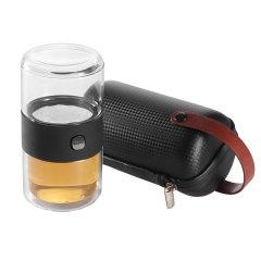 ZENS/哲品家居π杯玻璃快客杯旅行便携茶具D5500209图片