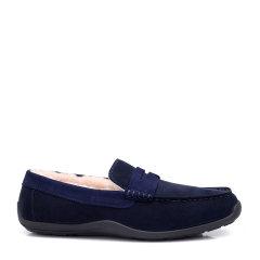 COZY STEPS/COZY STEPS 牛皮一脚蹬豆豆鞋男士休闲鞋图片