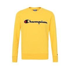 19春夏Champion/冠军欧洲ROCHESTER系列男款纯棉圆领LOGO长袖 运动卫衣/套头衫图片