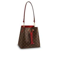 【包税】Louis Vuitton/路易威登  爆款NEO NOE女士棕色老花帆布水桶手提单肩包 (多颜色可选) M44020图片