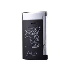 S.T. DUPONT/都彭 打火机 毕加索纪念版 slim7以火为冠系列 缪斯女神勾线画图片