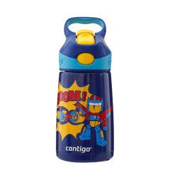 CONTIGO/Contigo 美国Contigo儿童保温杯带吸管不锈钢宝宝便携水壶男女学生水杯子图片