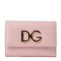 【18春夏】 Dolce&Gabbana/杜嘉班纳 女士 牛皮 牛皮 钱包 时尚 logo 黑色 3032 尺寸:12cmx8.5cmx3cm图片