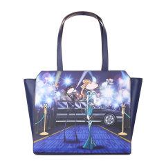 Love Moschino/Love Moschino女士PVC多色手提包 购物袋 单肩包JC4107PP12图片