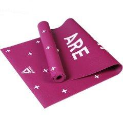 锐步(Reebok)进口瑜伽垫4mm双面PVC初学者防滑健身运动垫子RAYG-11030HH/GN/11040PL图片