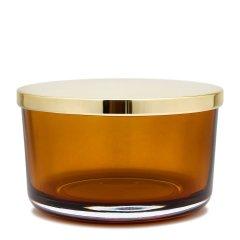 secarts home-绿松石色玻璃收纳罐H7.8cm图片