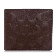 COACH/蔻驰 Saffiano皮革 男士短款钱包钱夹 75371图片