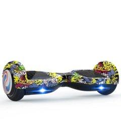 龙吟两轮体感电动扭扭车成人智能漂移思维代步车儿童双轮平衡车  6.5寸图片