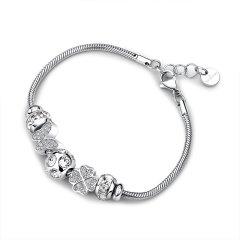 【Designer Jewelry】brosway/宝思薇意大利设计欧美时尚女士潮饰手链情人节礼物 送女友 基础手链图片