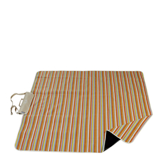 loyo/乐游 绒布野餐垫 防潮摇粒绒 手提户外露营儿童爬行垫图片