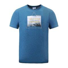 Columbia/哥伦比亚 男款户外山脉印花运动吸湿T恤 PM3695图片