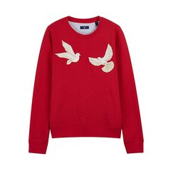 GANT/甘特 女卫衣 2018秋冬新品服装  女士爱情之鸽刺绣圆领长袖T恤卫衣 4204645图片