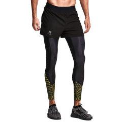 后秀/HOTSUIT 运动裤男紧身裤假2件跑步健身裤 56092302图片