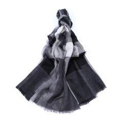 【奢品节可用券】BURBERRY/博柏利山羊绒材质经典格纹元素女士围巾图片