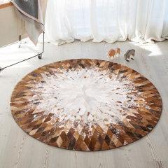 DOWNESSA赫斯提亚 设计师原创毛皮拼接地毯图片