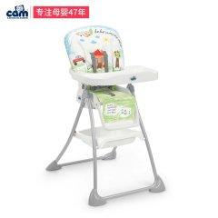 CAM/贝贝亲 意大利原装进口 宝宝餐椅多功能可折叠bb儿童餐椅吃饭餐桌椅座椅 婴儿餐椅S450图片