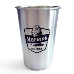 MARMOT/土拨鼠不锈钢防摔杯子敞口日常饮水口杯啤酒冷饮冰杯F1145图片