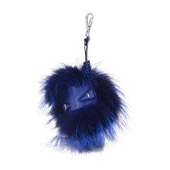 FENDI/芬迪 女士狐狸毛小怪兽毛球挂饰钥匙扣其他7AR389 6DK图片