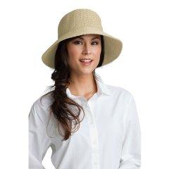 【美国专业防晒】Coolibar Marina女士宽檐防晒帽 UPF 50+(多色可选) 02269图片