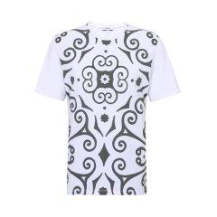 VERSACE COLLECTION/VERSACE COLLECTION 时尚休闲男士经典款白色短袖T恤 B1701M2084VC10男士短袖T恤图片