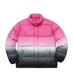 Supreme 18SS Gradient Puffy Jacket 渐变 羽绒服 夹克外套图片