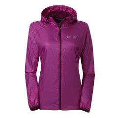 【可用券】MARMOT/土拨鼠防风防泼水透气DriClime吸湿排汗衬里户外运动女士夹克外套F56080图片