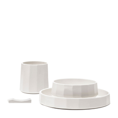 【KANJIAN·Life/看见民生】白瓷食器套装图片