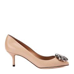【17秋冬新款】Dolce&Gabbana/杜嘉班纳高跟鞋-女士时尚皮鞋(高跟)90% 牛皮 10% 羔羊皮图片