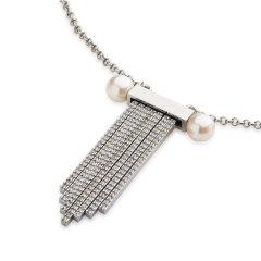 【DesignerJewelry】【O.YANG/O.YANG】项链女采用施华洛世奇元素水晶流苏可调时尚个性气质锁骨链图片