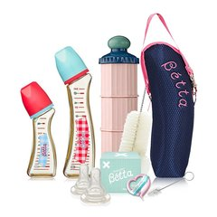 【包税】Betta/贝塔 防呛奶瓶新生儿婴儿奶瓶套装 0-1/1-3/3-6/6个月以上适用 日本原装 温柔呵护图片
