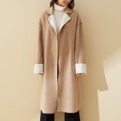 【DesignerWomenwear】LER/子时2017冬季新品羊毛毛呢女士大衣图片