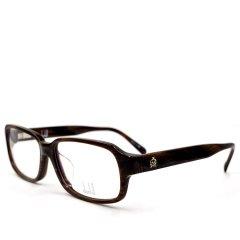 【新品】DUNHILL/登喜路 卓越风范系列典雅摩登款商务旅行版绅士光学眼镜D8007(适合亚洲男士脸型)(舒适鼻托)(意大利进口轻盈板材)图片