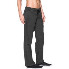 under armour/安德玛 女士 户外 运动 休闲裤 直筒跑步裤 长裤 女士 运动裤 1280697图片