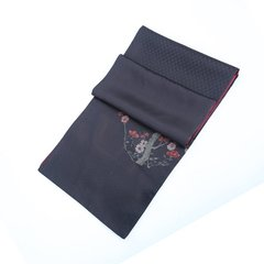SAINTJOY/上久楷 宋锦双面长巾 粉彩梅雀纹图片