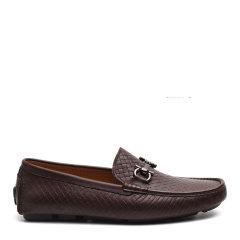 【18新款】S.T. DUPONT/都彭 牛皮懒人套脚编织透气开车鞋男士乐福鞋G23143001图片