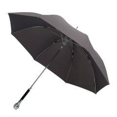 MISS RAIN/MISS RAIN 男士雨伞长柄伞直杆实木创意权杖狮子头高端商务伞男 英伦风 MR限量款图片