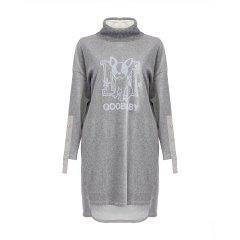 【DesignerWomenwear】MONOSPACE/单一空间小狗字母印花长袖女士连衣裙图片