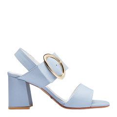 [18春夏新品] PS.MARY JANE女士浅色牛皮高跟鞋凉鞋图片