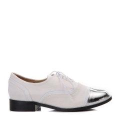 BENATIVE/本那靓丽出行 深口单鞋 皮质拼接圆头休闲鞋BN01733025图片