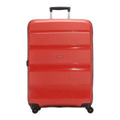 Samsonite/新秀丽几何纹理拉杆箱万向轮行李箱时尚硬箱20寸85A 中性款式 聚碳酸酯图片