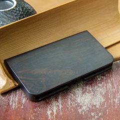 JIANGYI/匠艺 红木缘起名片盒 创意红木礼品 木质工艺品 商务生活图片
