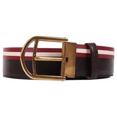 BALLY/巴利 男式Saffiano皮革拼色腰带CLINN 40 M图片