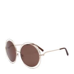CHLOE/克洛伊太阳镜CE114S女士圆框复古墨镜 时尚落空设计太阳眼镜 明星款图片