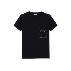 RANDOM GRADE/RANDOM GRADE  THIS WAY OR NO WAY印花全棉T恤 男士短袖T恤图片