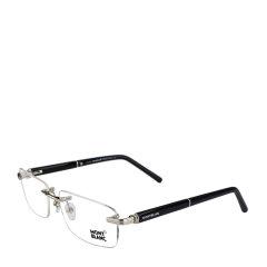 MontBlanc/万宝龙尊贵奢华总裁无框系列定制钢笔镜腿款正装商务行政版绅士光学眼镜图片