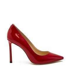 【精选】 19年春夏 JIMMY CHOO 黑色 女士 高跟鞋 R0MY100PAT 女士单鞋图片