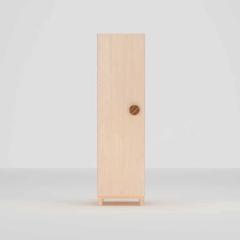 hamuoo/哈木的房间 纯实木衣柜 北欧简约枫木青少年衣橱 卧室两门储物柜(预定100天内发货)图片