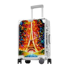 LIEMOCH/利马赫 英皇系列(Smart)智能拉杆箱 铝镁合金24寸 中性款式 旅行箱 定制图片