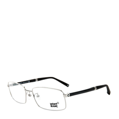 MontBlanc/万宝龙MB451 028 58经典六芒星标识全框商务领航者钢笔镜腿系列男士光学眼镜图片