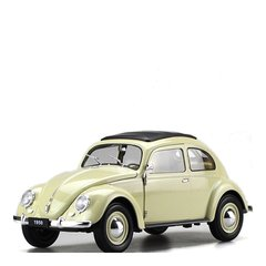 大众经典甲壳虫 1950 老爷车 1:18 仿真合金汽车模型收藏摆件图片